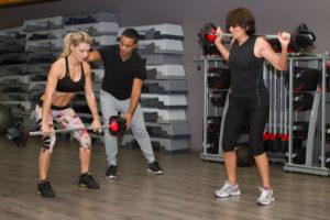 友人とトレーニング